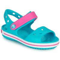 kengät Tytöt Sandaalit ja avokkaat Crocs CROCBAND SANDAL Sininen