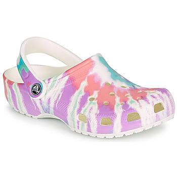 kengät Naiset Puukengät Crocs CLASSIC TIE DYE GRAPHIC CLOG Monivärinen