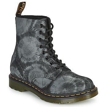kengät Naiset Bootsit Dr Martens 1460 PASCAL Musta / Harmaa