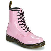 kengät Naiset Bootsit Dr Martens 1460 W Vaaleanpunainen