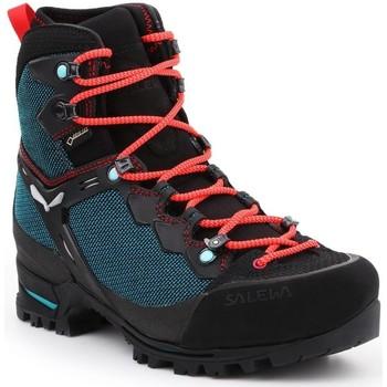 kengät Naiset Vaelluskengät Salewa WS Raven 3 GTX 61344-8736 green, black, red