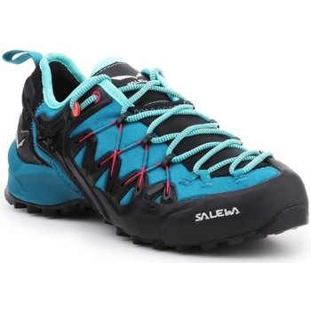 kengät Naiset Juoksukengät / Trail-kengät Salewa WS Wildfire Edge Vaaleansiniset, Grafiitin väriset