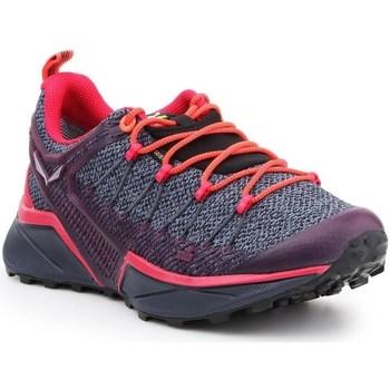 kengät Naiset Juoksukengät / Trail-kengät Salewa WS Dropline Gtx Harmaat,Oranssin väriset,Violetit