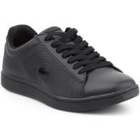 kengät Naiset Matalavartiset tennarit Lacoste Carnaby EVO 7-34SPW0008024 black