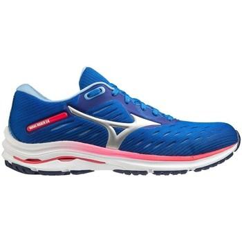 kengät Naiset Juoksukengät / Trail-kengät Mizuno Wave Rider 24 Vaaleansiniset