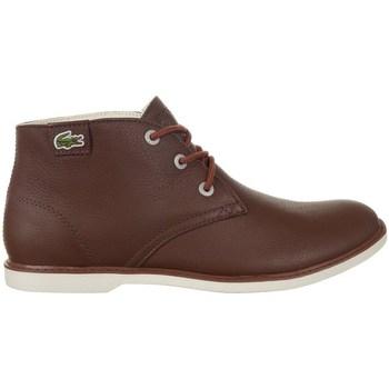 kengät Naiset Bootsit Lacoste Sherbrook HI SB Ruskeat