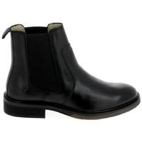 kengät Miehet Bootsit Kickers Alphasea Noir Musta