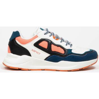 kengät Naiset Matalavartiset tennarit Asfvlt Baskets Femme  Concrete blanc/bleu/corail