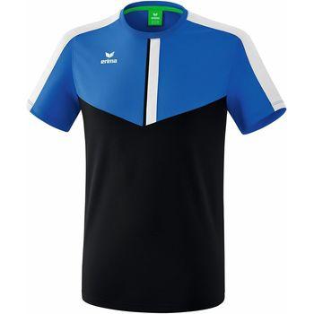 vaatteet Miehet Lyhythihainen t-paita Erima T-shirt  Squad bleu royal/bleu marine