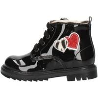 kengät Tytöt Nilkkurit Nero Giardini I021502F Black