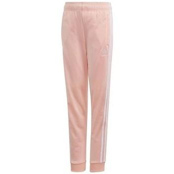 vaatteet Tytöt Verryttelyhousut adidas Originals Sst Trackpant Vaaleanpunaiset