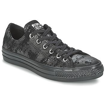 kengät Naiset Matalavartiset tennarit Converse CHUCK TAYLOR ALL STAR  HARDWARE Black fb47e4948d