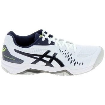 kengät Miehet Tenniskengät Asics Gel Challenger 12 Blanc Noir Valkoinen