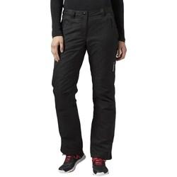vaatteet Naiset Chino-housut / Porkkanahousut Reebok Sport Foundation Padded Mustat