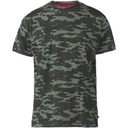 vaatteet Miehet Lyhythihainen t-paita Duke  Jungle