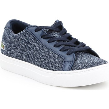 kengät Naiset Matalavartiset tennarit Lacoste L 12 12 317 7-34CAW0017003 blue