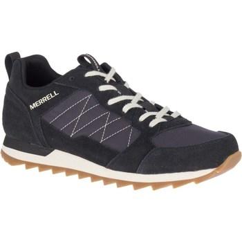kengät Miehet Matalavartiset tennarit Merrell Alpine Grafiitin väriset