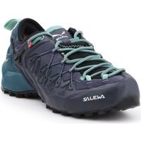 kengät Naiset Vaelluskengät Salewa WS Wildfire Edge GTX 61376-3838 black, green, navy