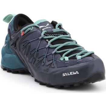 kengät Naiset Vaelluskengät Salewa WS Wildfire Edge GTX 61376-3838 green, black