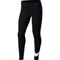 vaatteet Tytöt Housut Nike Swoosh Mustat