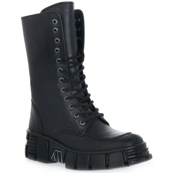 kengät Naiset Nilkkurit New Rock WALL ITALI NERO TOWER Nero