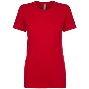 vaatteet Naiset Lyhythihainen t-paita Next Level NX3900 Red