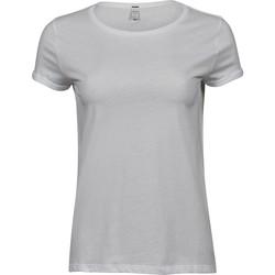 vaatteet Naiset Lyhythihainen t-paita Tee Jays T5063 White