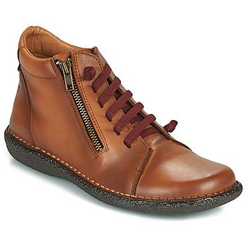 kengät Naiset Bootsit Casual Attitude NELIO Camel