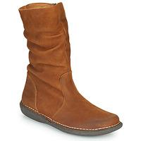 kengät Naiset Bootsit Casual Attitude NIELOO Kamelinruskea