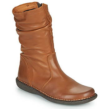 kengät Naiset Bootsit Casual Attitude NIELOO Camel
