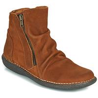 kengät Naiset Bootsit Casual Attitude NELIOO Brown