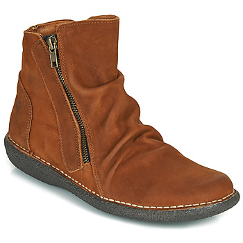 kengät Naiset Bootsit Casual Attitude NELIOO Ruskea