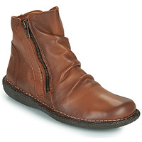 kengät Naiset Bootsit Casual Attitude NELIOO Camel