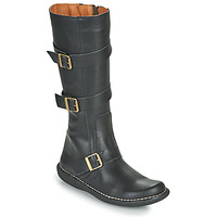 kengät Naiset Saappaat Casual Attitude NIBOOT Musta
