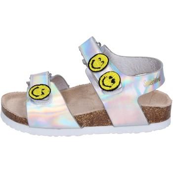 kengät Tytöt Sandaalit ja avokkaat Smiley Sandaalit BK507 Hopea