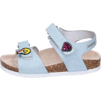kengät Tytöt Sandaalit ja avokkaat Smiley Sandali Tessuto Blu