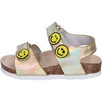 kengät Tytöt Sandaalit ja avokkaat Smiley Sandali Pelle sintetica Oro