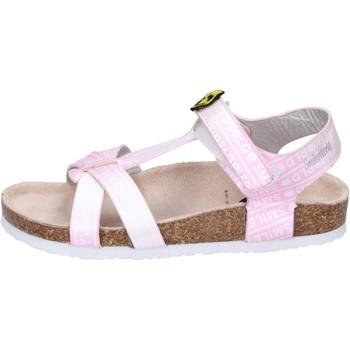 kengät Tytöt Sandaalit ja avokkaat Smiley Sandali Pelle sintetica Rosa
