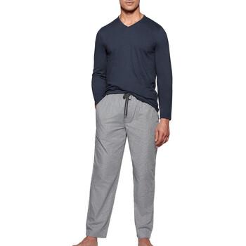 vaatteet Miehet pyjamat / yöpaidat Impetus 1523310 E97 Sininen