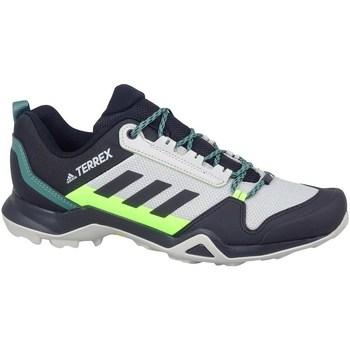 kengät Miehet Vaelluskengät adidas Originals Terrex AX3 Hiking Grafiitin väriset,Vaaleanvihreä,Harmaat