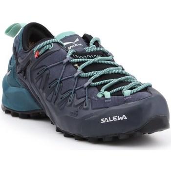 kengät Naiset Vaelluskengät Salewa WS Wildfire Edge Gtx Grafiitin väriset