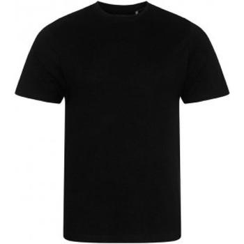 vaatteet Miehet Lyhythihainen t-paita Ecologie EA001 Jet Black