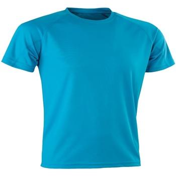 vaatteet Miehet Lyhythihainen t-paita Spiro SR287 Ocean Blue