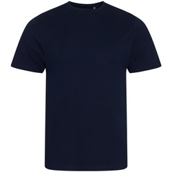 vaatteet Miehet Lyhythihainen t-paita Ecologie EA001 Navy