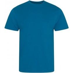 vaatteet Miehet Lyhythihainen t-paita Ecologie EA001 Ink Blue