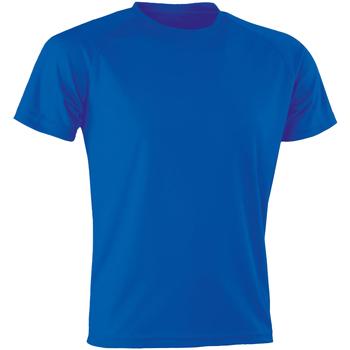 vaatteet Miehet Lyhythihainen t-paita Spiro SR287 Royal