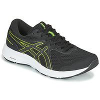 kengät Miehet Juoksukengät / Trail-kengät Asics CONTEND 7 Musta / Keltainen