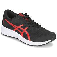 kengät Miehet Juoksukengät / Trail-kengät Asics PATRIOT 12 Musta / Punainen