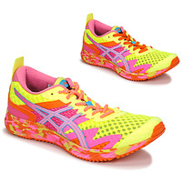 kengät Naiset Juoksukengät / Trail-kengät Asics NOOSA TRI 12 Yellow / Multicolour