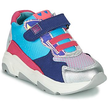 kengät Tytöt Korkeavartiset tennarit Agatha Ruiz de la Prada BRAZIL Sininen